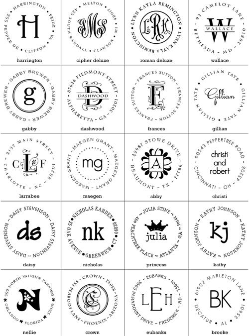 Psa stamp options