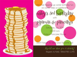Pancakes pajamas party the little things pancakes pajamas party how fun would it be to wake up in the morning and go straight to a fabulous birthday party just take a look and see invitation filmwisefo